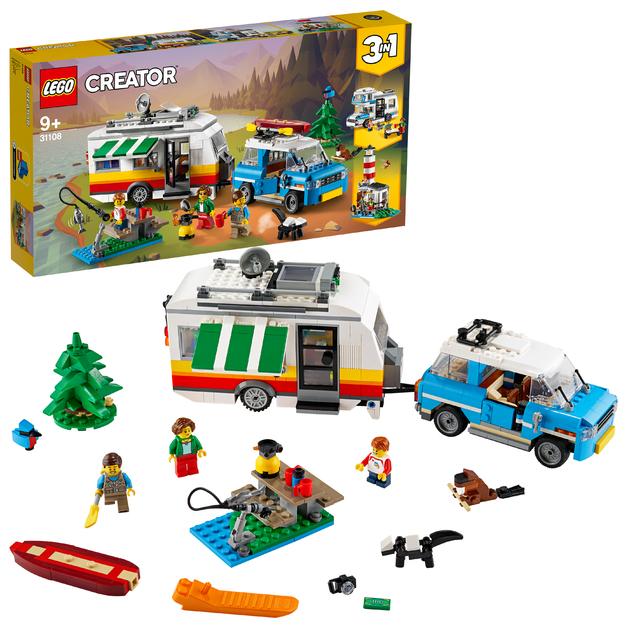 LEGO Creator: Holiday Caravan Trailer - (31108)