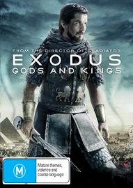 Exodus: Gods & Kings on DVD