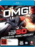WWE: OMG! Top 50 Incidents In WWE History on Blu-ray