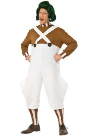 Charlie and the Chocolate Factory: Oompa Loompa - Deluxe Costume (Medium)