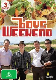 Boys Weekend (3 Disc Set) on DVD