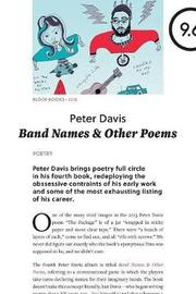 Band Names & Other Poems by Peter Davis