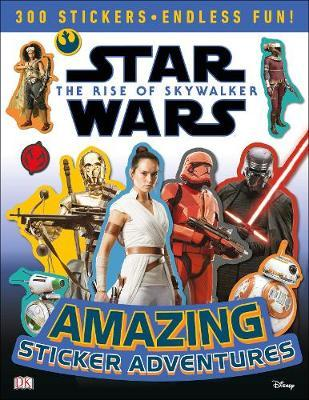 Star Wars The Rise of Skywalker Amazing Sticker Adventures by David Fentiman