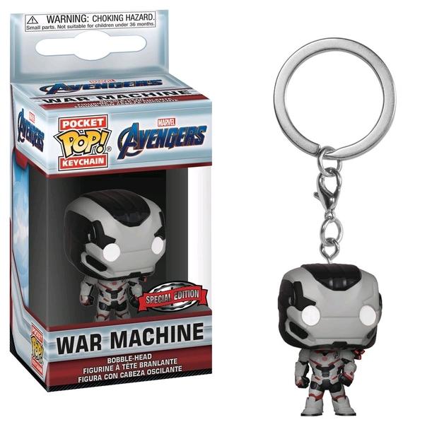 Avengers: Endgame - War Machine Pocket Pop! Keychain