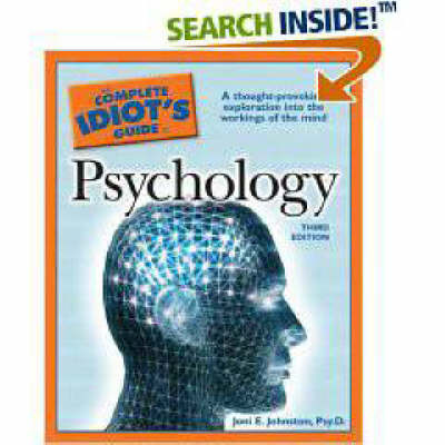 The Complete Idiot's Guide to Psychology by Joni E Johnston, Psy.D. image