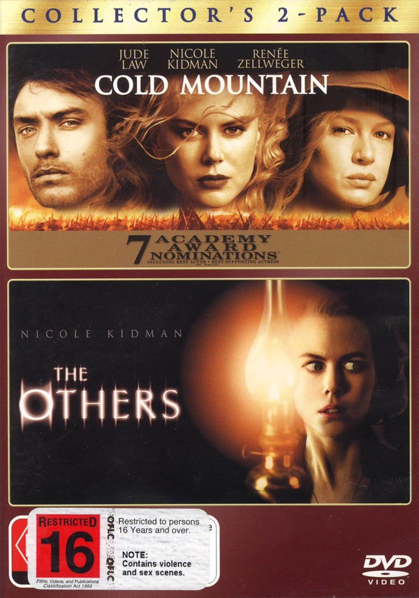 Cold Mountain / The Others - Collector's 2-Pack (2 Disc Set) on DVD image