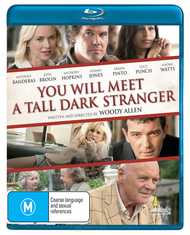 You Will Meet A Tall Dark Stranger on Blu-ray