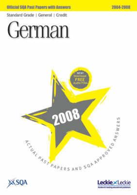 German Standard Grade (G/C) SQA Past Papers: 2008 by SQA image