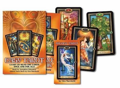 Easy Tarot Boxed Set (Book + Cards) by Ciro Marchetti