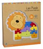Orange Tree Toys: Lion Number Puzzle