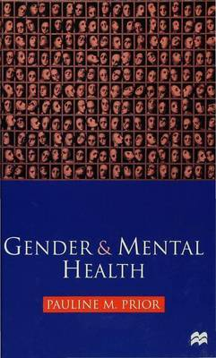 Gender and Mental Health by Pauline M. Prior image