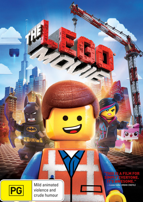The Lego Movie on DVD