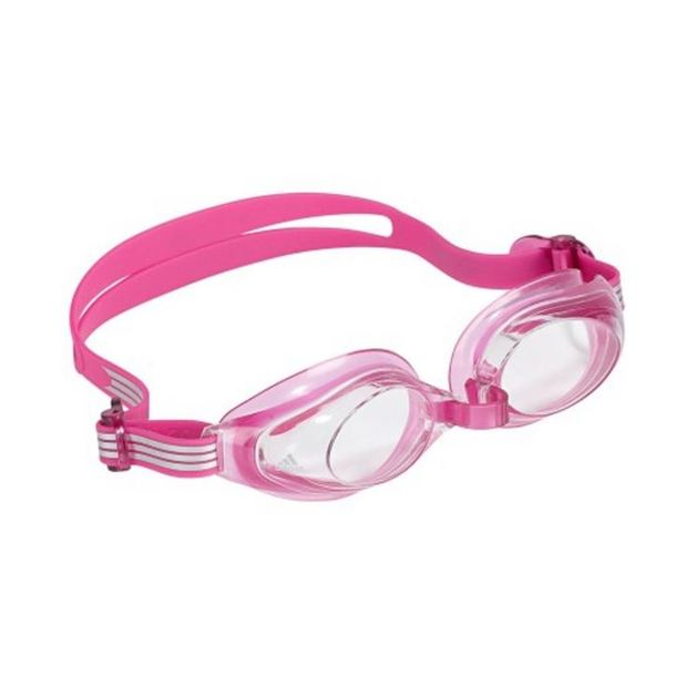 Adidas Aquastorm Junior Goggles - Clear Lens (Pink)