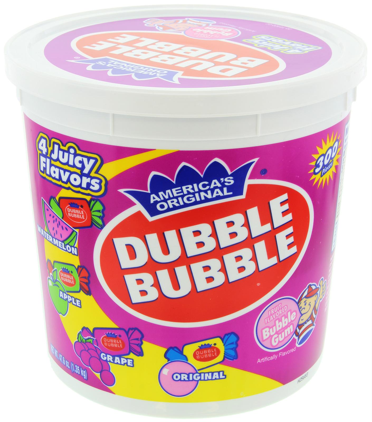Dubble Bubble 4 flavor Tub (1.3kg) image