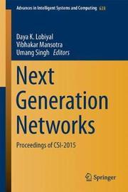 Next-Generation Networks