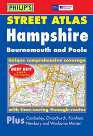 Philip's Street Atlas Hampshire, Bournemouth and Poole image