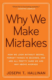 Why We Make Mistakes by Joseph T Hallinan image