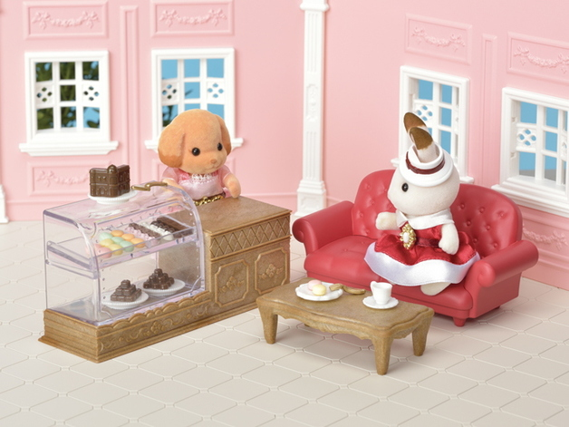 Sylvanian Families: Chocolate Lounge Playset