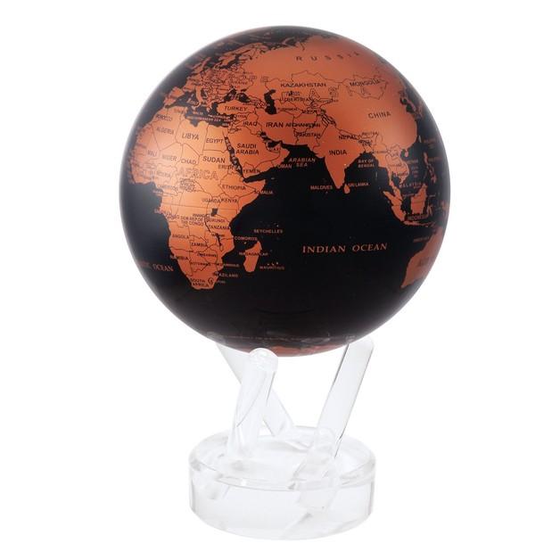MOVA: Self Rotating Globe - Copper Black (11.5cm)