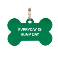 Say What: Pet Tag - Hump Day (Green)