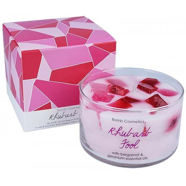 Bomb Cosmetics: Rhubarb Fool Jelly Candle