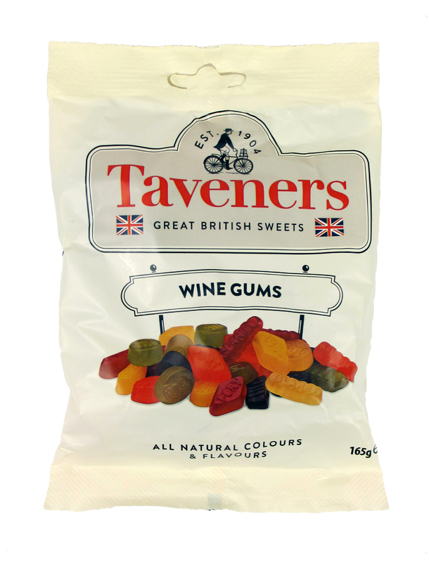 Taveners Wine Gums (165g)