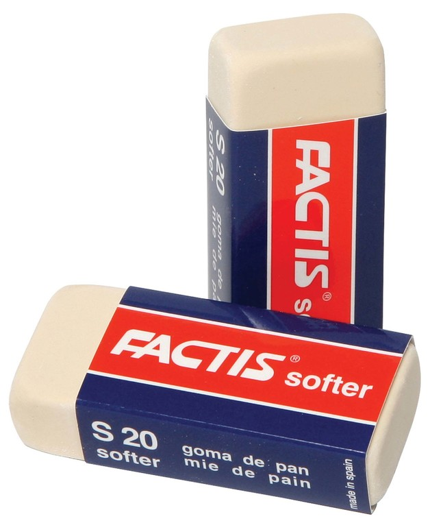 Factis: S20 Soft White Eraser