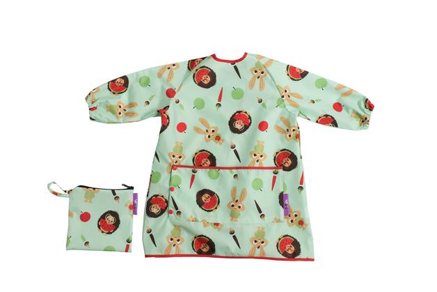 Tidy Tot: Toddler Bib - Pistachio Green