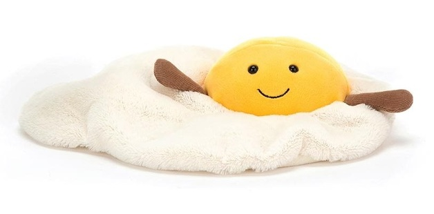 Jellycat: Amuseable Fried Egg - Medium Plush