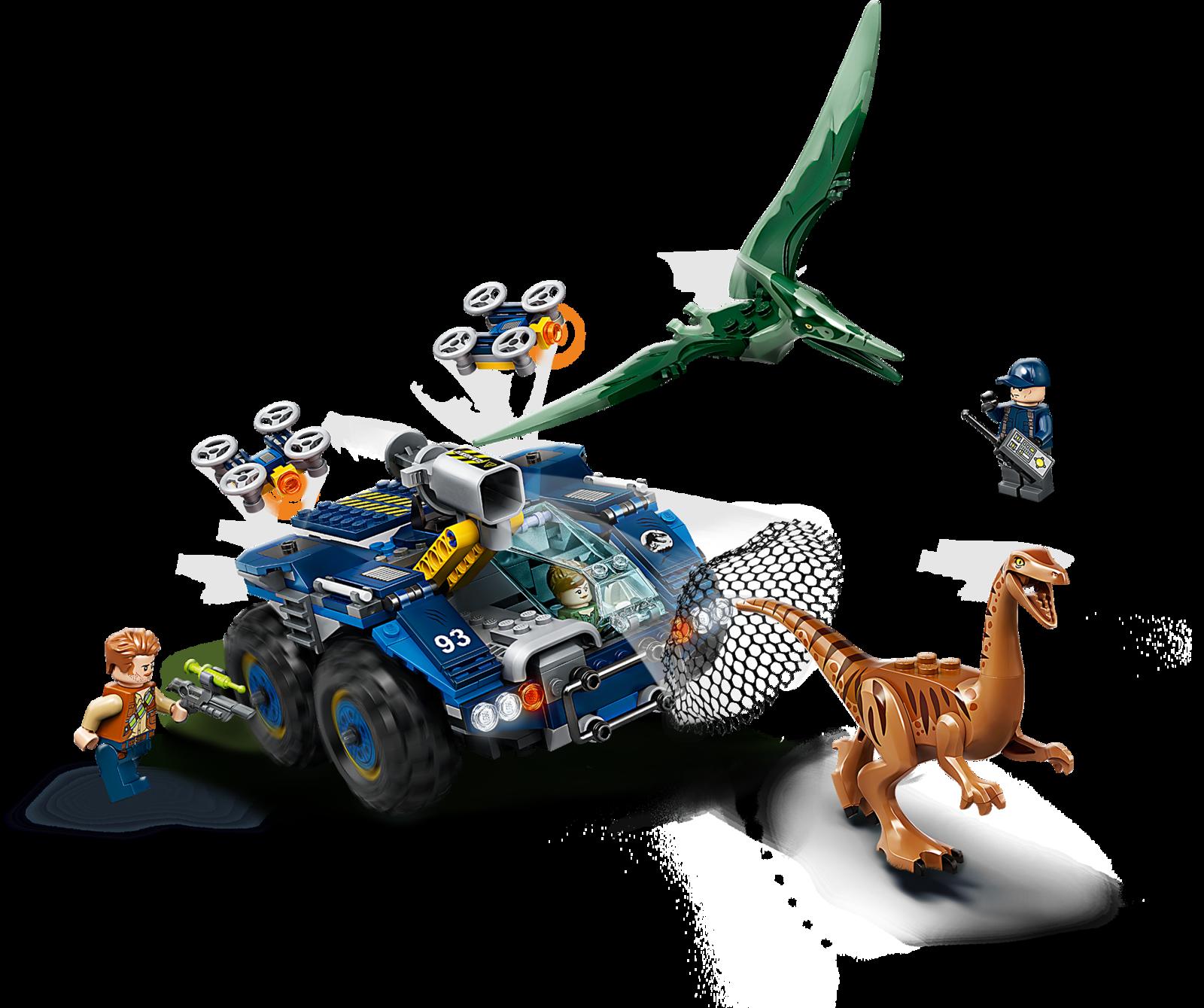 LEGO Jurassic World - Gallimimus & Pteranodon Breakout (75940) image