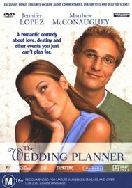 The Wedding Planner on DVD image