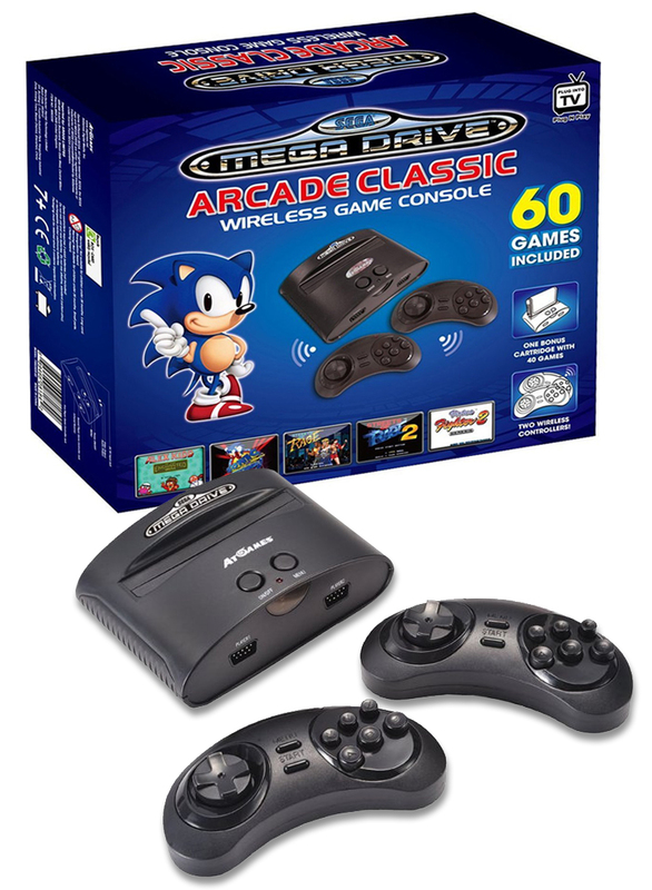 Sega MegaDrive Arcade Classic Wireless Console