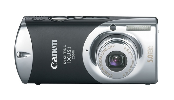 Canon IXUSIBK Black 5Mp 2.4xOptical Digital Camera IXUS image