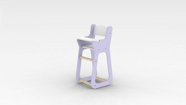 Moover Baby High Chair - Purple