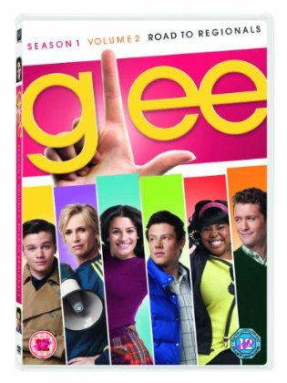 Glee - Season 1. Vol. 2 Road to Regionals (3 Disc Set) on DVD image