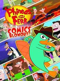 Disney Phineas and Ferb Colossal Comics Collection by Disney