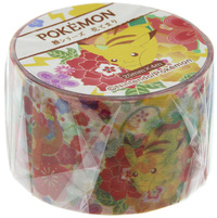 Pokemon Miyabi Series Masking Tape - Hanatemari