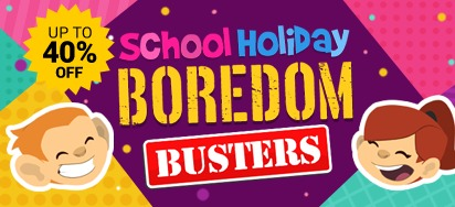 School Holiday Boredom Busters!