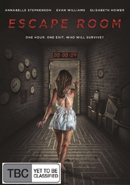 Escape Room on DVD