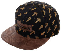 Minecraft: Patch All Over Print - Snapback Cap