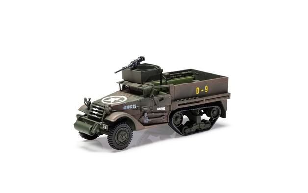 Corgi 1/50 M3 A1 Half-Track 41st Armoured Infantry Diecast Model