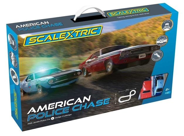 Scalextric: American Police Chase - Slot Car Set