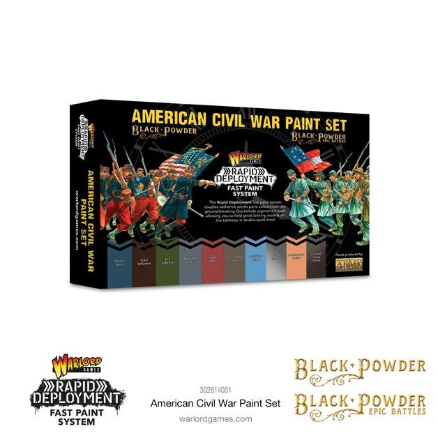 Black Powder: American Civil War paint set