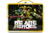 Teenage Mutant Ninja Turtles Embossed Tin Lunch Tote (Yellow)