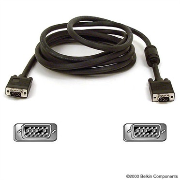 Belkin - Pro Series High Integrity VGA/SVGA Monitor Replacement Cable - 3m