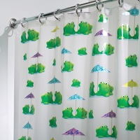 Interdesign Shower Curtain - Frogs