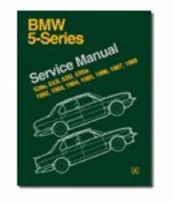 BMW 5 Series Service Manual 1982-88 (E28) image