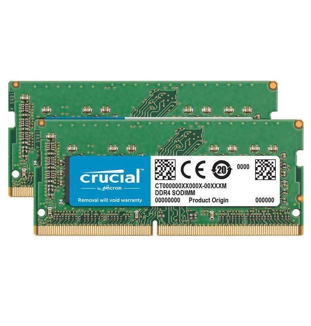 2 x 8GB Crucial DDR4 2400MHz