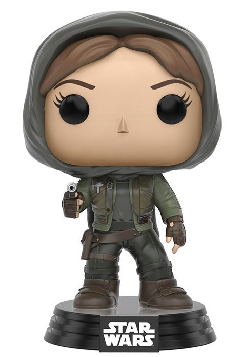 Star Wars: Rogue One - Jyn Erso (Hooded) Pop! Vinyl Figure
