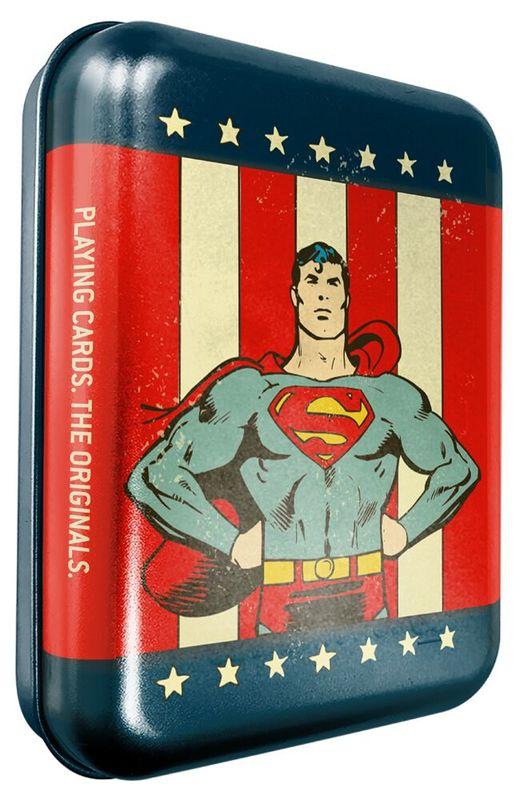 DC Comics: Superman - Playing Card Tin